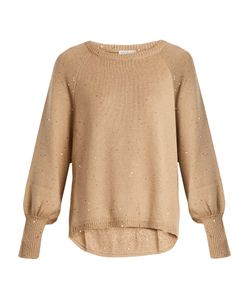 Brunello Cucinelli | Cashmere And Silk-Blend Knit Sweater