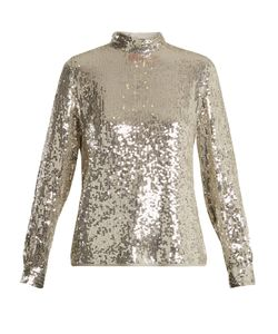 Vanessa Bruno | Hena High-Neck Sequinned Top