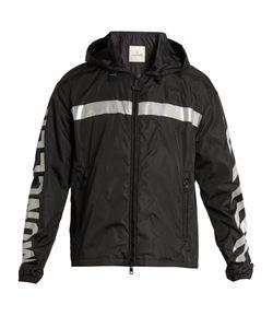 Moncler O   Gangui Logo-Print Lightweight Jacket