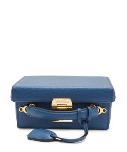Mark Cross   Grace Small Grained-Leather Box Bag