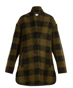 Isabel Marant Étoile | Gino Checked Wool-Blend Coat