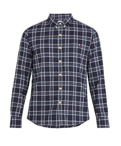 Moncler Gamme Bleu | Single-Cuff Checked-Cotton Shirt
