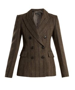 Isabel Marant | Kelsey Double-Breasted Striped Wool-Blend Jacket