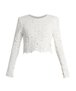 A.L.C. | Talia Long-Sleeved Lace Top