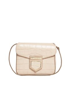 Givenchy | Nobile Mini Crocodile-Effect Cross-Body Bag
