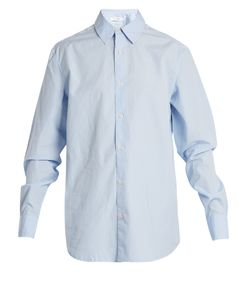 Frame | Point-Collar Cotton-Oxford Shirt