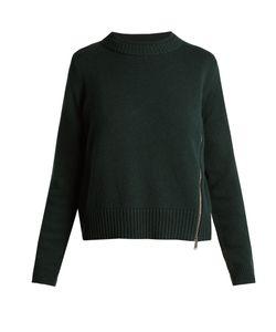 Proenza Schouler | Asymmetric-Zip Wool And Silk-Blend Sweater