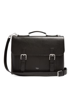 Mulberry | Chiltern Grained Briefcase