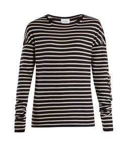 BARRIE | Thistle Striped Cashmere Sweater