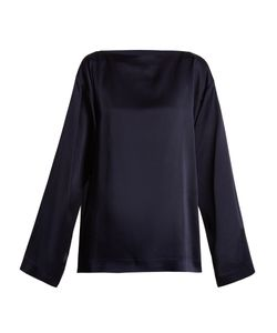 Haider Ackermann | Kuiper Boat-Neck Satin Blouse