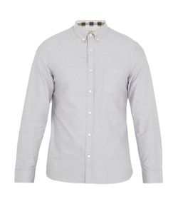 Burberry | Reagan Point-Collar Cotton-Oxford Shirt