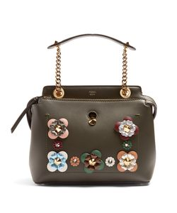 Fendi | Dotcom Small Flower-Appliqué Bag