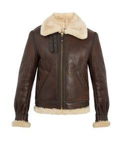 Schott | Military B-3 Shearling-Lined Jacket