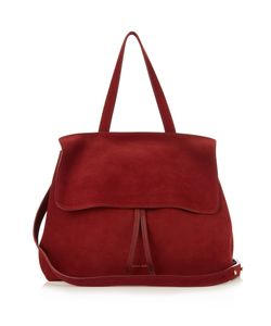 MANSUR GAVRIEL | Lady Top-Handle Suede Bag