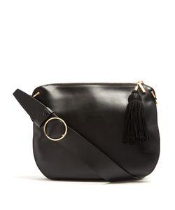 HILLIER BARTLEY | Tassel Leather And Suede Shoulder Bag