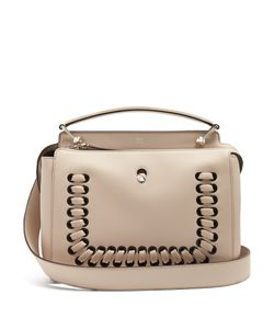 Fendi | Dotcom Whipstitched Leather Bag
