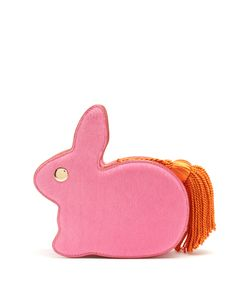 HILLIER BARTLEY | Bunny Leather And Hair Clutch