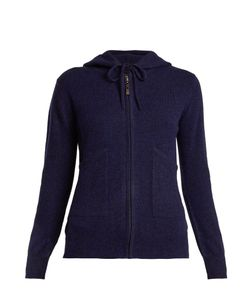 PEPPER & MAYNE | Zip-Through Hooded Cashmere Sweater
