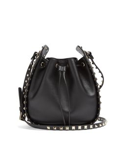 Valentino | Rockstud Cross-Body Bucket Bag