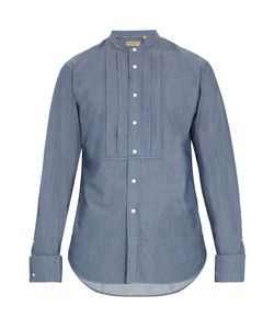 Burberry | Benfleet Double-Cuff Cotton-Chambray Shirt