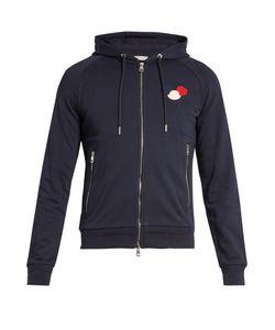 Moncler | Zip-Up Cotton-Jersey Hooded Sweatshirt