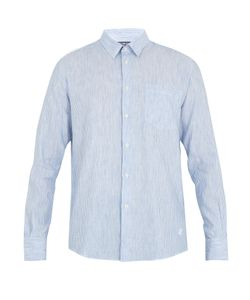Vilebrequin | Caroubis Button-Cuff Linen And Cotton-Blend Shirt