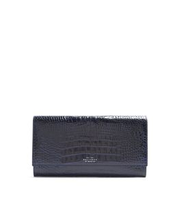 Smythson | Mara Marshall Crocodile-Effect Wallet