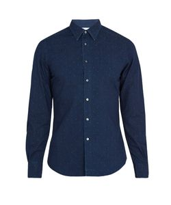 Boglioli | Regular-Fit Polka-Dot Print Cotton Shirt