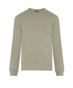 A.P.C. | Worker Patch-Pocket Cotton Sweater