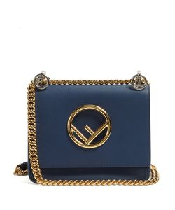 Fendi | Kan I Logo Small Leather Cross-Body Bag