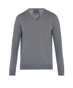 Giorgio Armani | V-Neck Wool Sweater