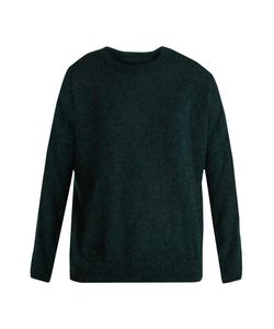 Masscob | Round-Neck Mohair-Blend Sweater