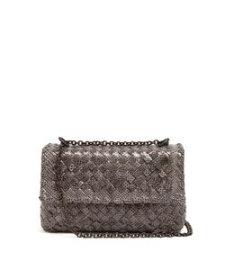 Bottega Veneta | Olimpia Intrecciato Water-Snake Shoulder Bag