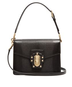 Dolce & Gabbana | Lucia Iguana-Effect Leather Bag