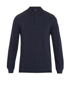 Belstaff | Ashburton Long-Sleeved Cotton-Piqué Polo Shirt