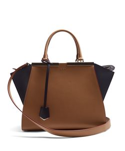 Fendi | 3jours Contrast-Panel Leather Tote