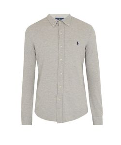 Polo Ralph Lauren | Mesh-Knit Cotton Oxford Shirt