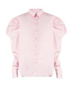 Marques Almeida   Puff-Sleeved Cotton-Poplin Shirt
