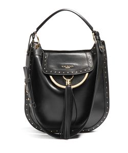 Balmain | Domaine 33 Leather Shoulder Bag