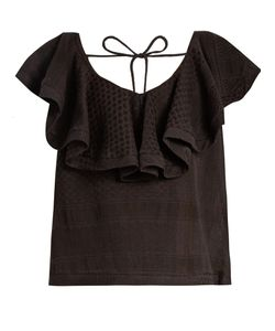 CECILIE COPENHAGEN | Ruffled Cotton Top