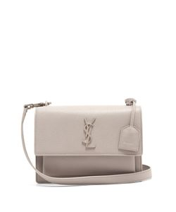 Saint Laurent | Sunset Medium Leather Cross-Body Bag