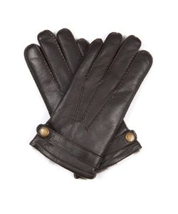 DENTS | Carlisle Rabbit Fur-Lined Leather Gloves