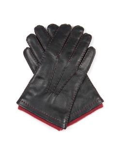 DENTS | Westminster Cashmere-Knit Lined Leather Gloves