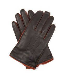 DENTS | Brancepeth Bi-Colour Leather Gloves