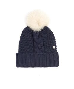 WOOLRICH JOHN RICH & BROS. | Serenity Cable-Knit Wool Beanie Hat