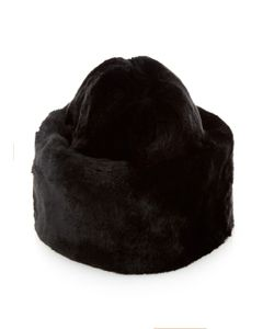 Master Piece | Lucy Cat Rabbit-Fur Hat