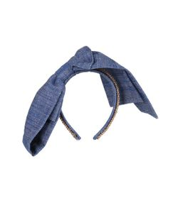 Master Piece | Good Girl Flat-Bow Denim Headband