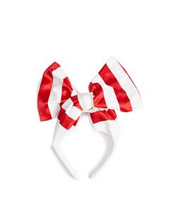BENOÎT MISSOLIN | Betty Satin And Cotton Striped Headband