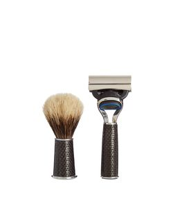 CEDES MILANO | Travelling Carbon-Fibre Shaving Set