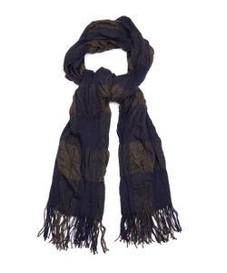 Y'S BY YOHJI YAMAMOTO | Block-Checked Wool Scarf